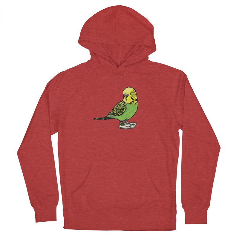 Budgie Men's Pullover Hoody by Simon Christopher Greiner