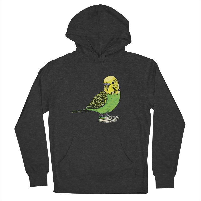 Budgie Women's Pullover Hoody by Simon Christopher Greiner