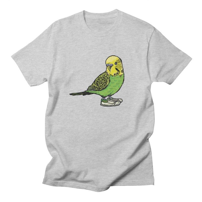 Budgie Men's Regular T-Shirt by Simon Christopher Greiner