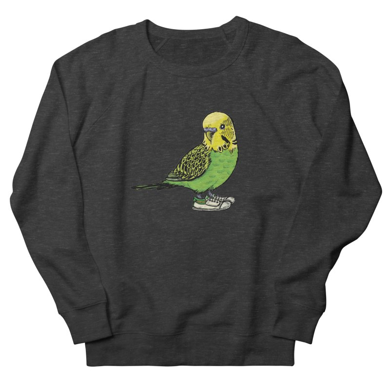 Budgie Women's Sweatshirt by Simon Christopher Greiner