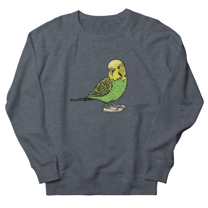 Budgie Women's Sweatshirt by Simon Christopher Greiner