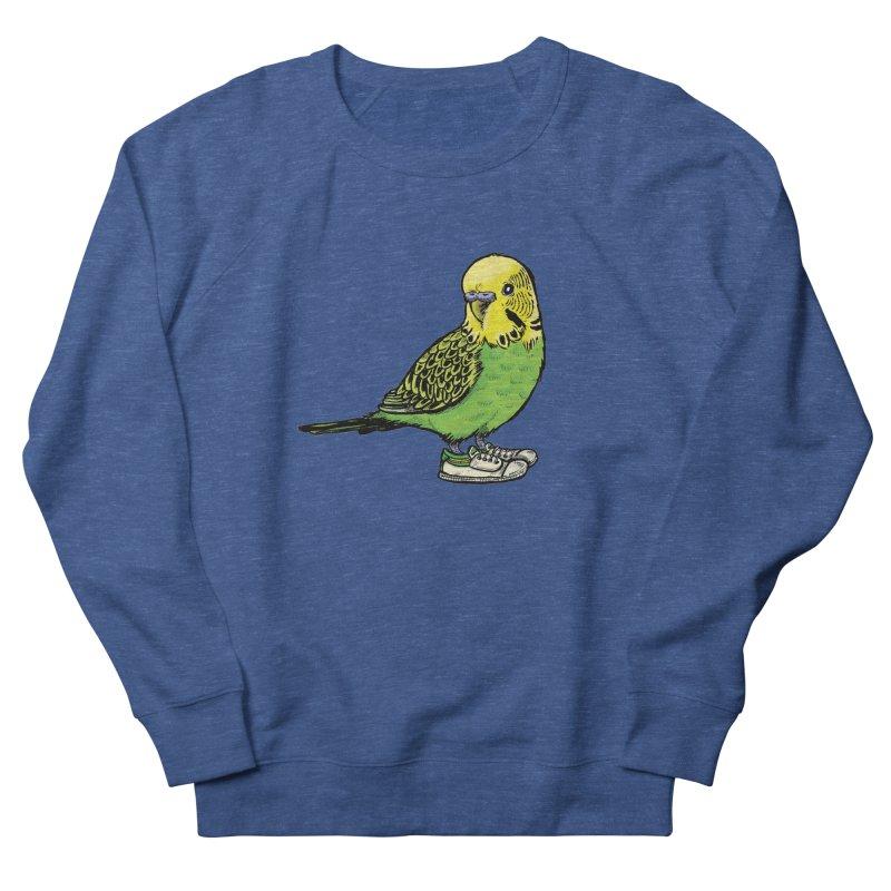 Budgie Men's Sweatshirt by Simon Christopher Greiner