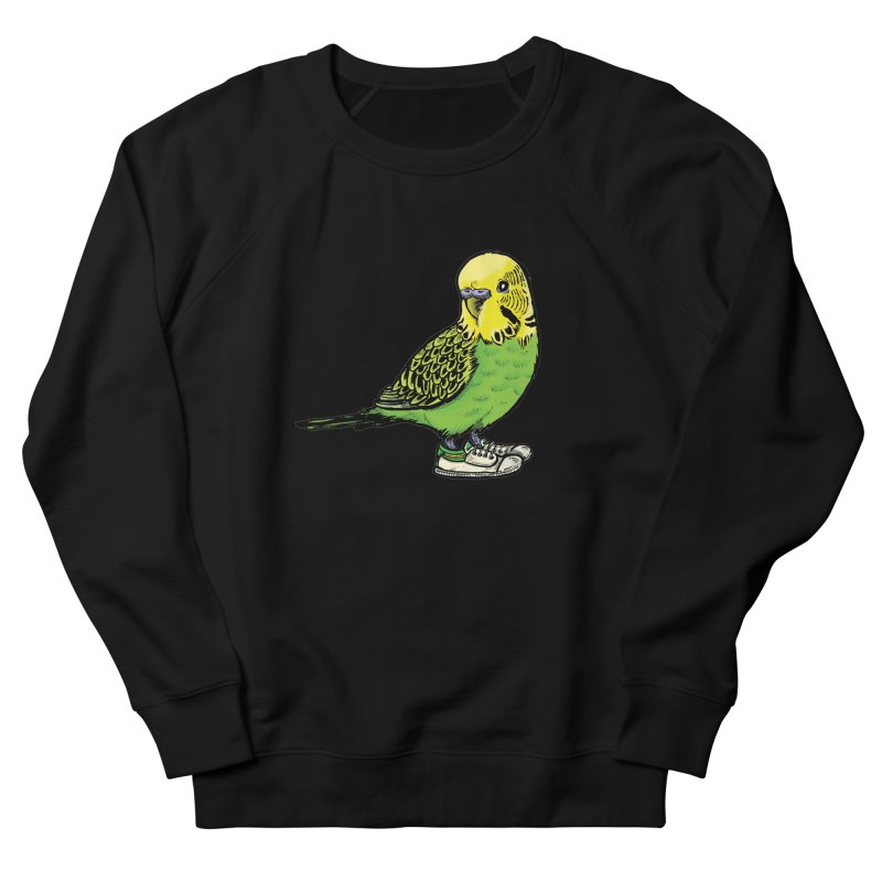 Budgie Men's Sweatshirt by Simon Christopher Greiner