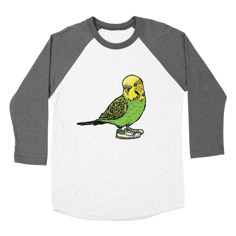 Budgie Women's Longsleeve T-Shirt by Simon Christopher Greiner