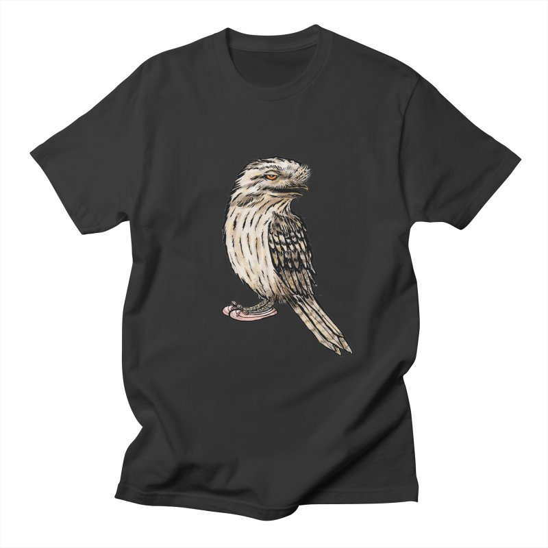 Tawny Frogmouth Men's T-Shirt by Simon Christopher Greiner