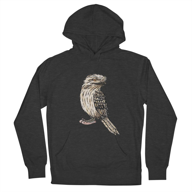 Tawny Frogmouth Men's Pullover Hoody by Simon Christopher Greiner