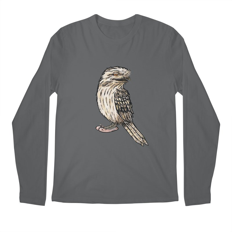 Tawny Frogmouth Men's Longsleeve T-Shirt by Simon Christopher Greiner