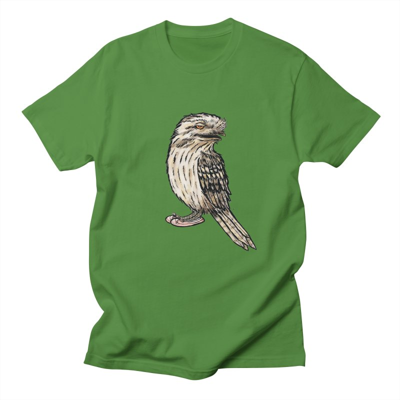 Tawny Frogmouth Men's Regular T-Shirt by Simon Christopher Greiner