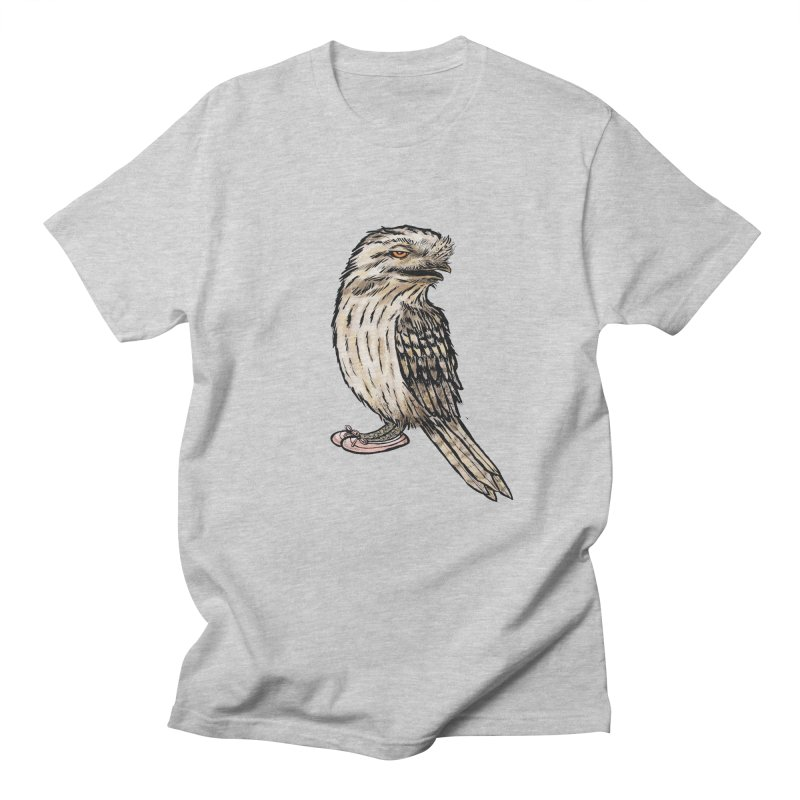 Tawny Frogmouth Men's Regular T-Shirt by Simon Christopher Greiner