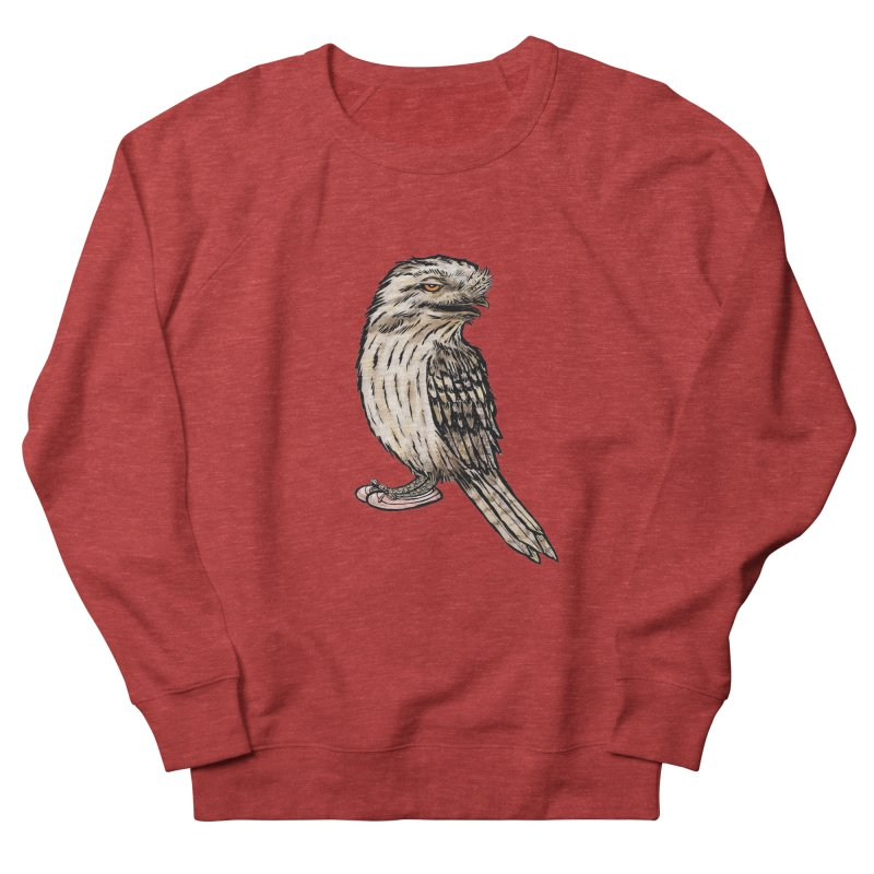 Tawny Frogmouth Women's Sweatshirt by Simon Christopher Greiner