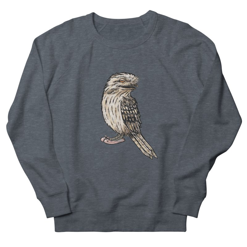 Tawny Frogmouth Men's Sweatshirt by Simon Christopher Greiner