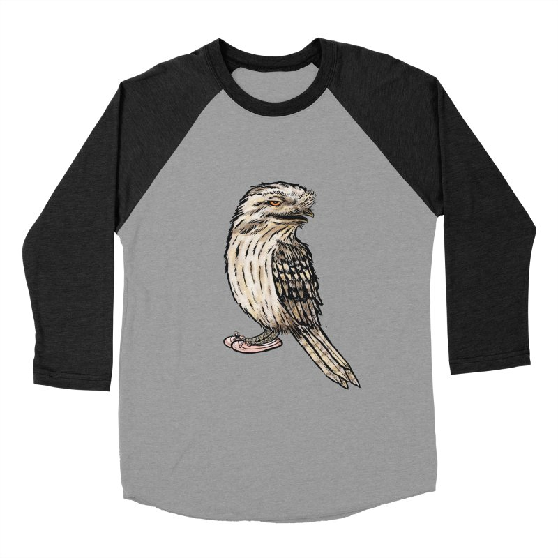 Tawny Frogmouth Women's Longsleeve T-Shirt by Simon Christopher Greiner