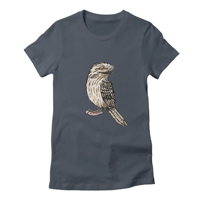 Tawny Frogmouth Women's T-Shirt by Simon Christopher Greiner