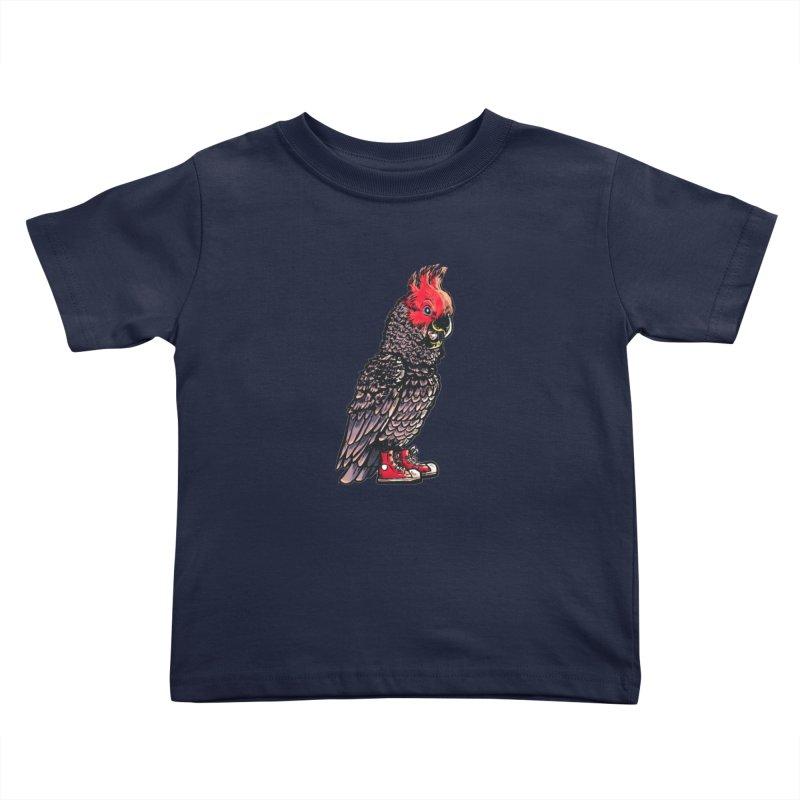 Gang Gang Kids Toddler T-Shirt by Simon Christopher Greiner