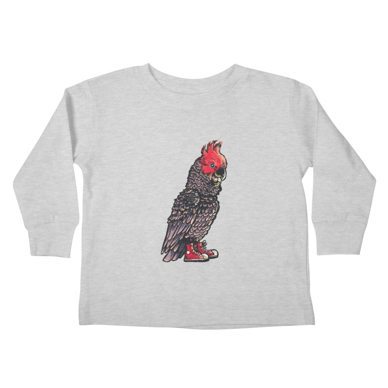 Gang Gang Kids Toddler Longsleeve T-Shirt by Simon Christopher Greiner