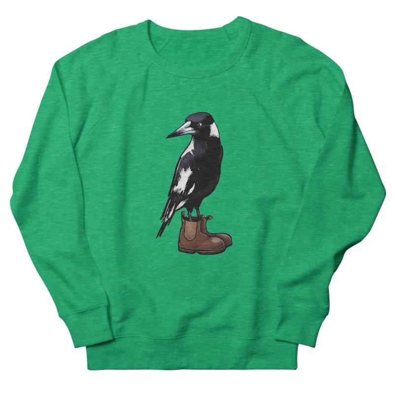 Magpie Women's Sweatshirt by Simon Christopher Greiner