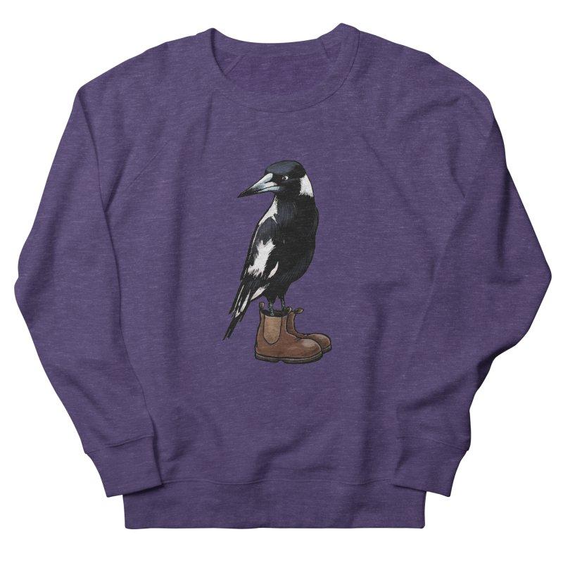 Magpie Men's Sweatshirt by Simon Christopher Greiner