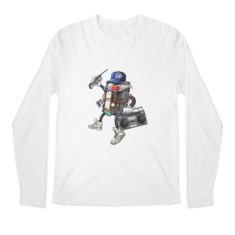 I Am The 80s Men's Longsleeve T-Shirt by simonthegreat's Artist Shop