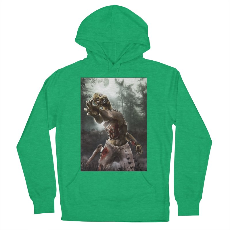 Zombie Walkers of The Living Dead Women's Pullover Hoody by simonthegreat's Artist Shop