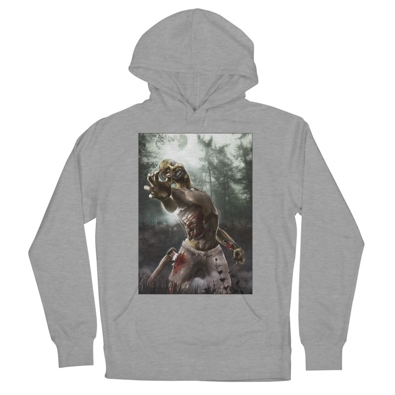 Zombie Walkers of The Living Dead Men's Pullover Hoody by simonthegreat's Artist Shop