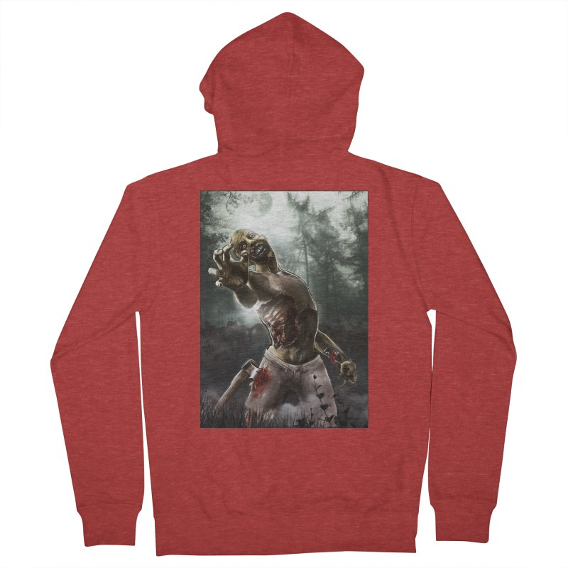 Zombie Walkers of The Living Dead Women's Zip-Up Hoody by simonthegreat's Artist Shop