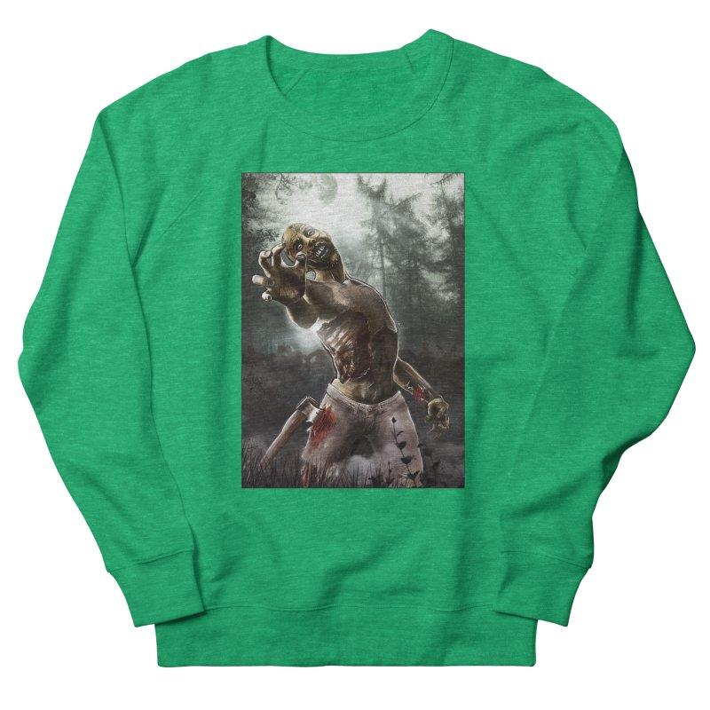 Zombie Walkers of The Living Dead Men's Sweatshirt by simonthegreat's Artist Shop
