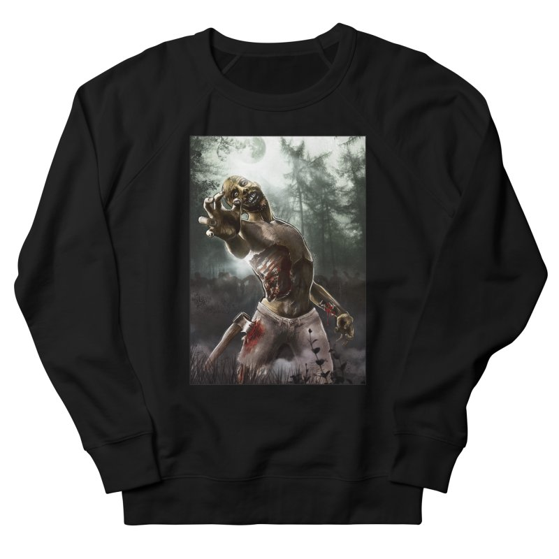 Zombie Walkers of The Living Dead Men's Sweatshirt by simonthegreat's Artist Shop