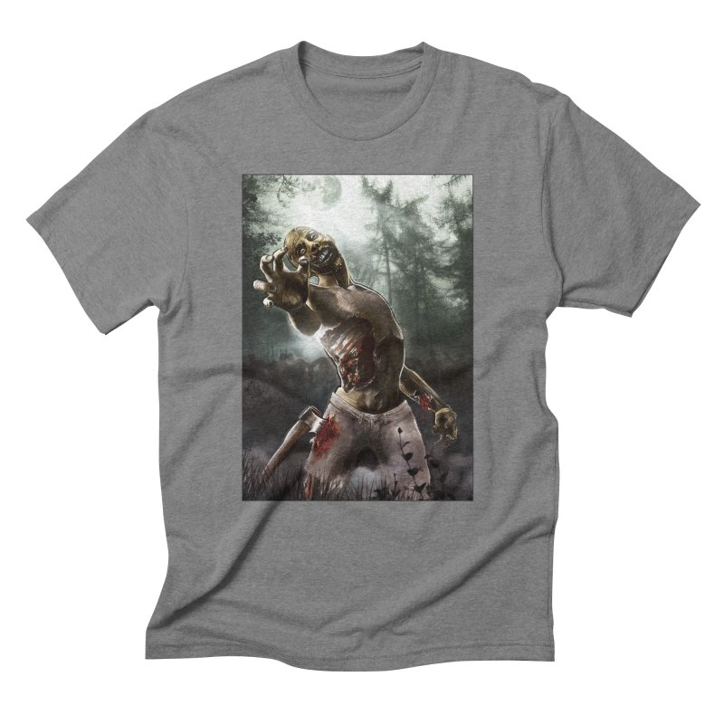 Zombie Walkers of The Living Dead Men's Triblend T-Shirt by simonthegreat's Artist Shop