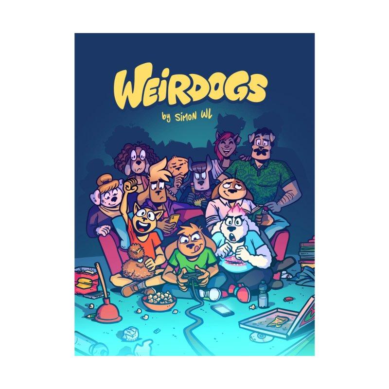 Weirdogs - Cast Poster Home Fine Art Print by simonwl's Artist Shop