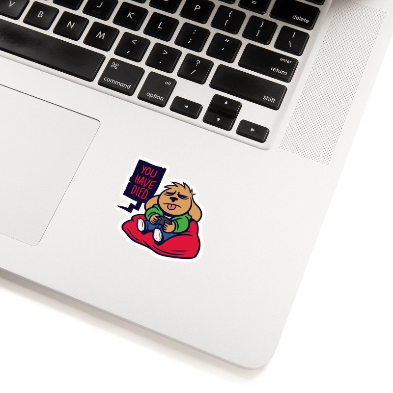 Weirdogs - Chibi Dodger (Game Over) Accessories Sticker by simonwl's Artist Shop