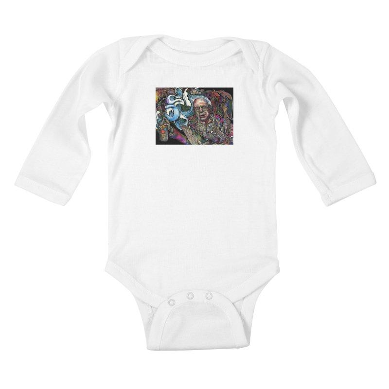 Water Berner Sand Creatures Kids Baby Longsleeve Bodysuit by simpleheady's Shop