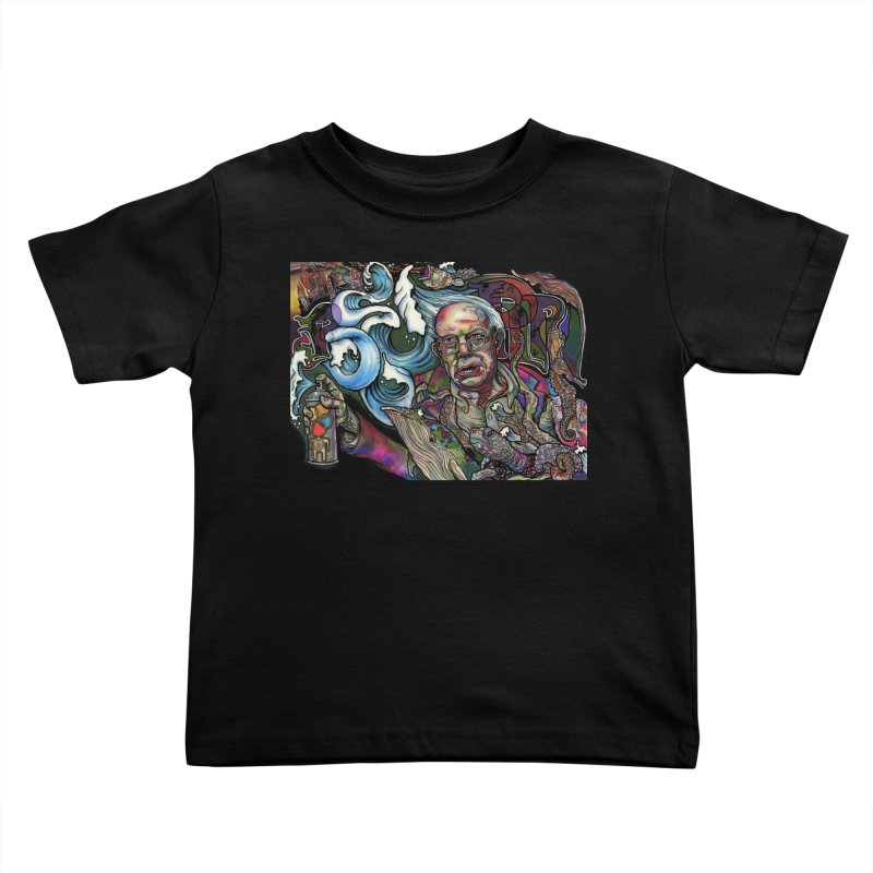Water Berner Sand Creatures Kids Toddler T-Shirt by simpleheady's Shop