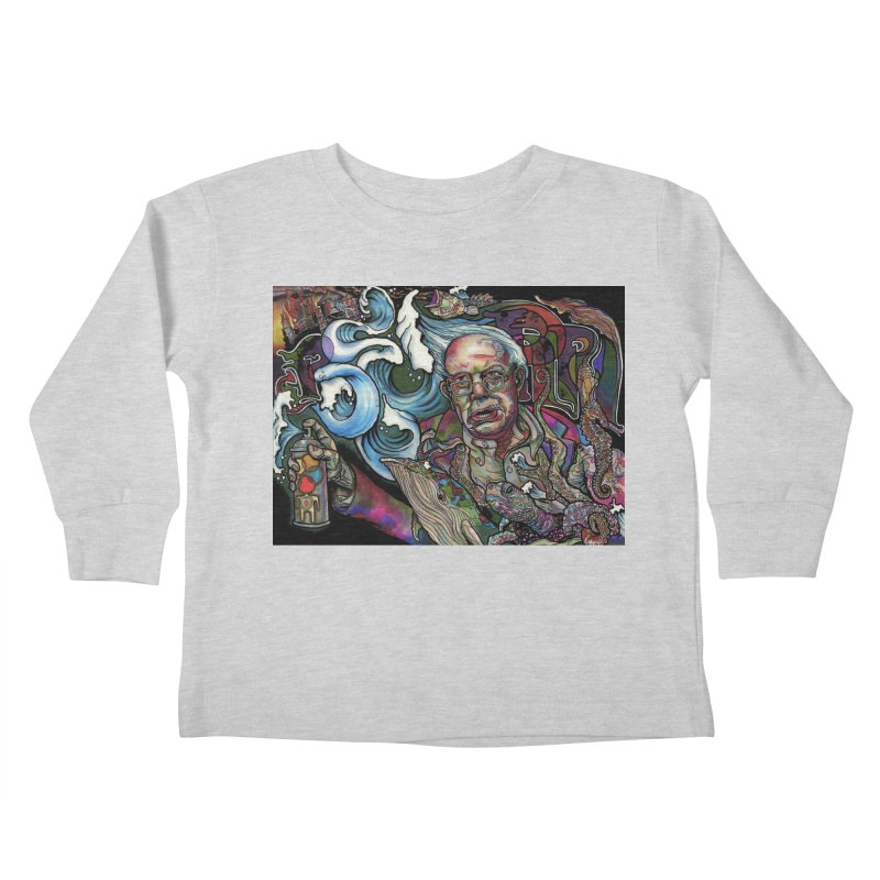 Water Berner Sand Creatures Kids Toddler Longsleeve T-Shirt by simpleheady's Shop