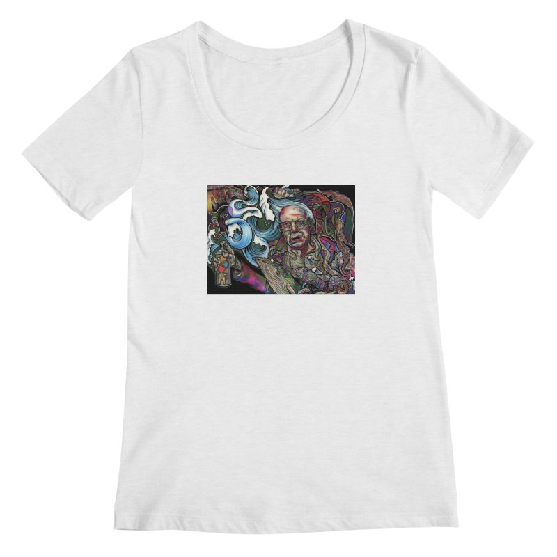 Water Berner Sand Creatures Women's Regular Scoop Neck by simpleheady's Shop