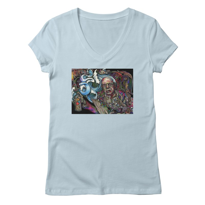 Water Berner Sand Creatures Women's Regular V-Neck by simpleheady's Shop