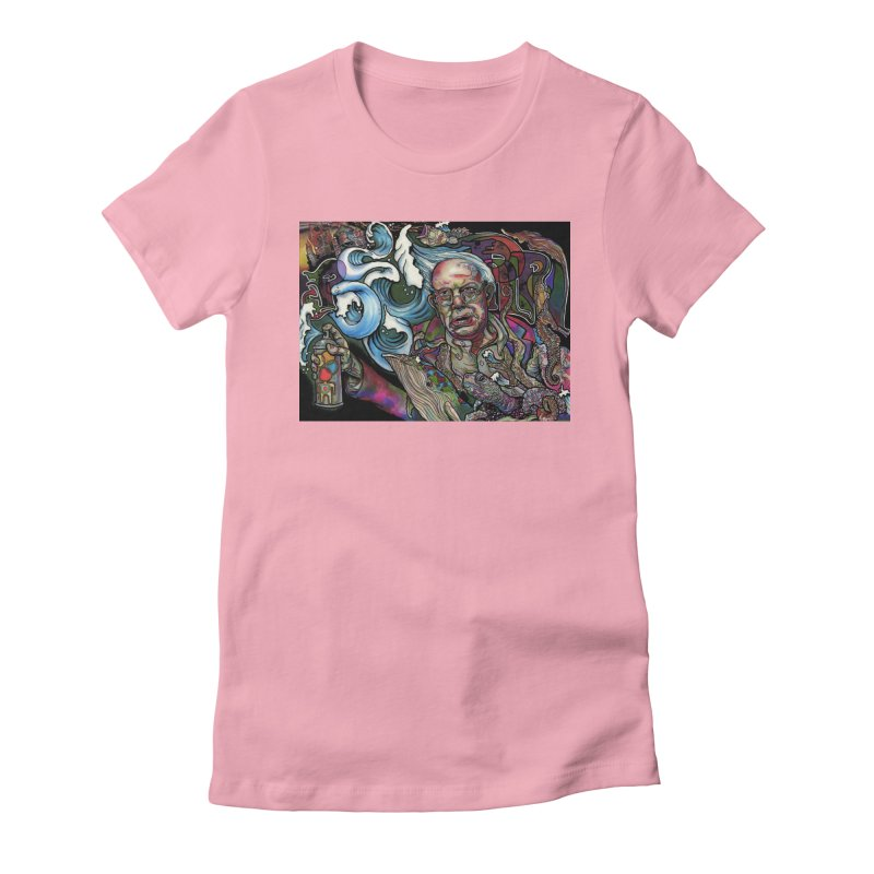 Water Berner Sand Creatures Women's Fitted T-Shirt by simpleheady's Shop