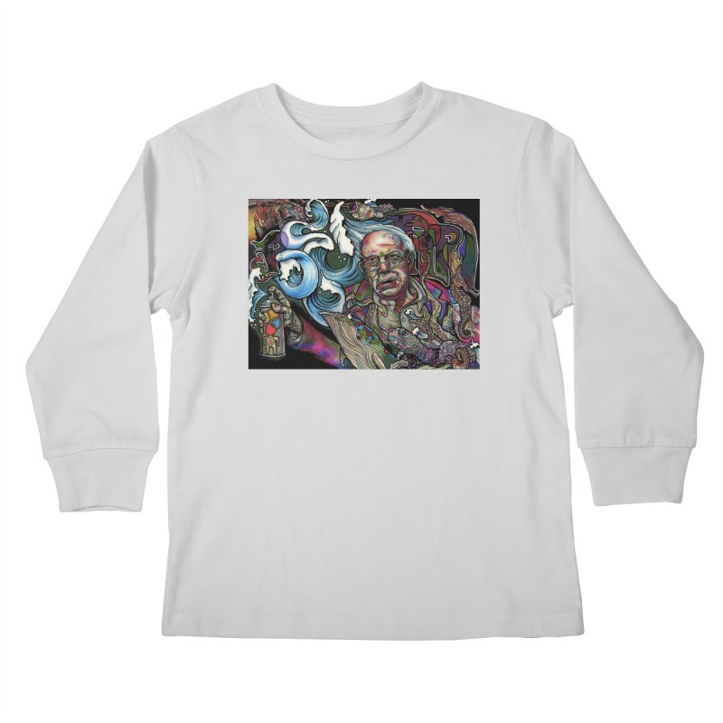 Water Berner Sand Creatures Kids Longsleeve T-Shirt by simpleheady's Shop