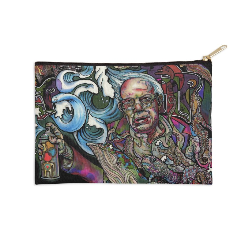 Water Berner Sand Creatures Accessories Zip Pouch by simpleheady's Shop