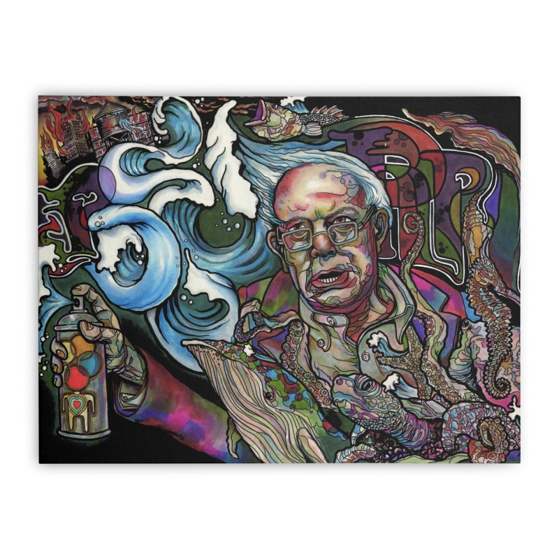 Water Berner Sand Creatures Home Stretched Canvas by simpleheady's Shop