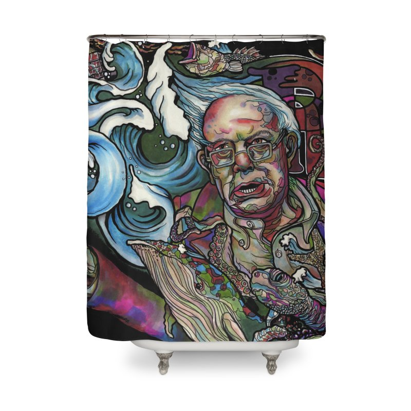 Water Berner Sand Creatures Home Shower Curtain by simpleheady's Shop