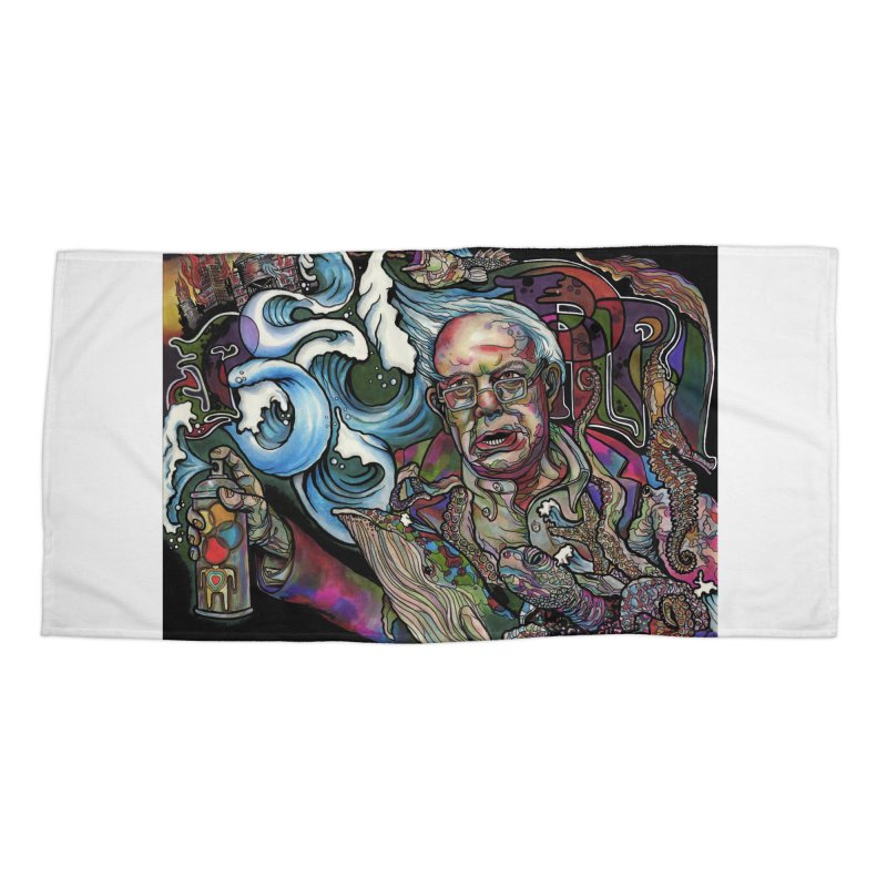 Water Berner Sand Creatures Accessories Beach Towel by simpleheady's Shop