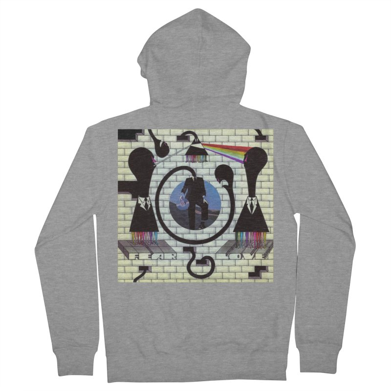 Pinky and the Floyd Brain Damage Men's French Terry Zip-Up Hoody by simpleheady's Shop