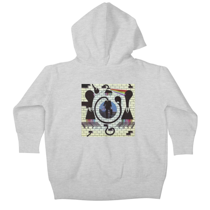 Pinky and the Floyd Brain Damage Kids Baby Zip-Up Hoody by simpleheady's Shop
