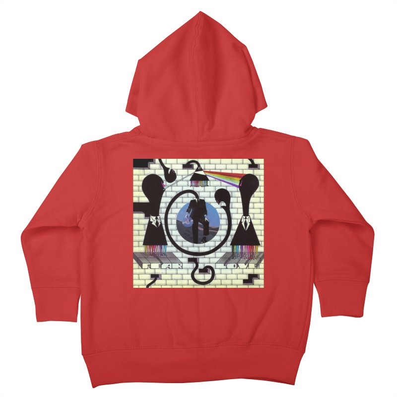 Pinky and the Floyd Brain Damage Kids Toddler Zip-Up Hoody by simpleheady's Shop