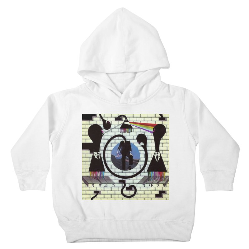 Pinky and the Floyd Brain Damage Kids Toddler Pullover Hoody by simpleheady's Shop