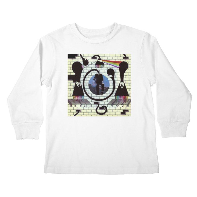 Pinky and the Floyd Brain Damage Kids Longsleeve T-Shirt by simpleheady's Shop