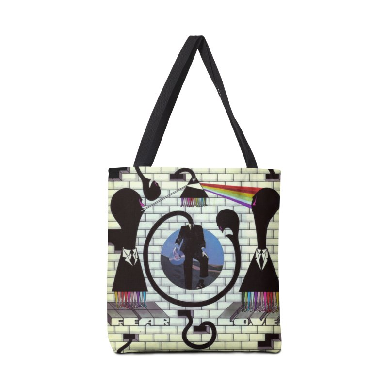 Pinky and the Floyd Brain Damage Accessories Tote Bag Bag by simpleheady's Shop