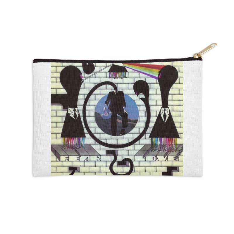 Pinky and the Floyd Brain Damage Accessories Zip Pouch by simpleheady's Shop