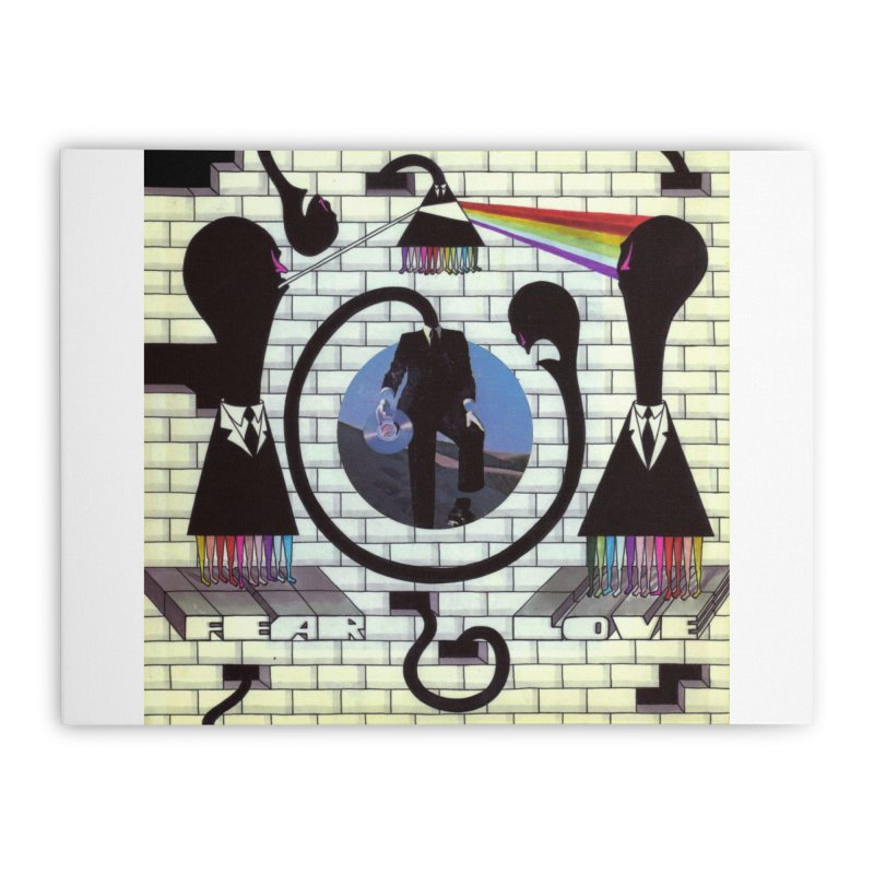 Pinky and the Floyd Brain Damage Home Stretched Canvas by simpleheady's Shop