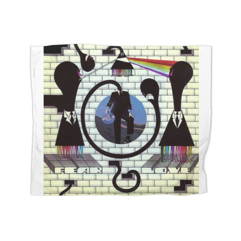 Pinky and the Floyd Brain Damage Home Fleece Blanket Blanket by simpleheady's Shop